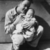 Siblings Larry & Nancy Leonard 1947