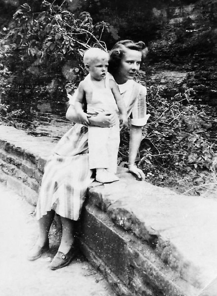 Mom and Steve Logan in 1950 at Letchworth State Park, NY.