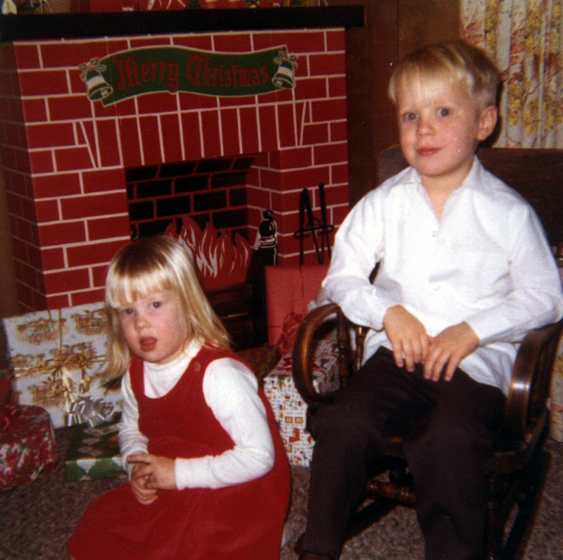 Scott & Susan, Christmas 1967