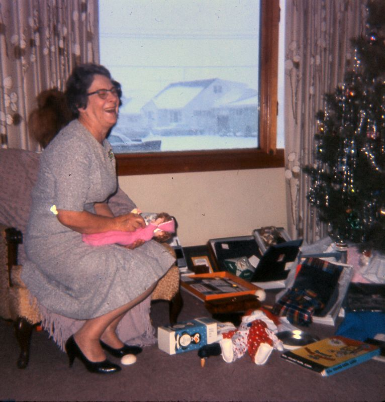 Grandma Logan, Christmas, 1965