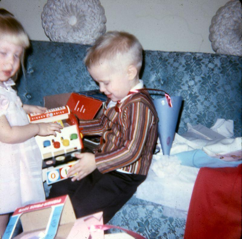Susie's 2nd. birthday, Jan. 1967