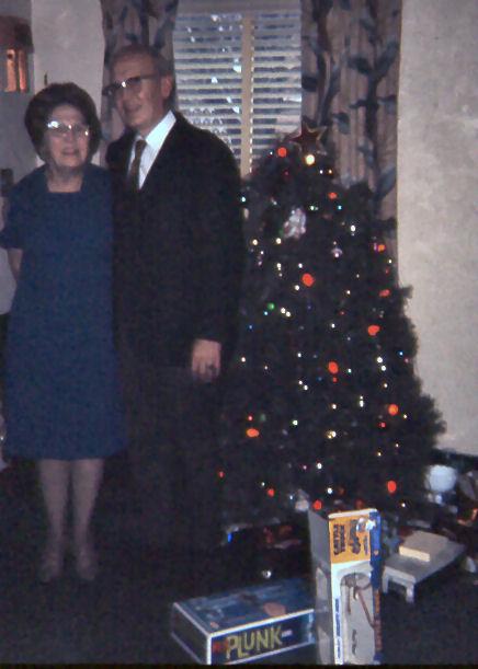 Dad with Grandma Hellam