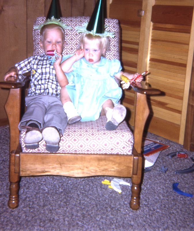 Scott & Susie, November, 1966