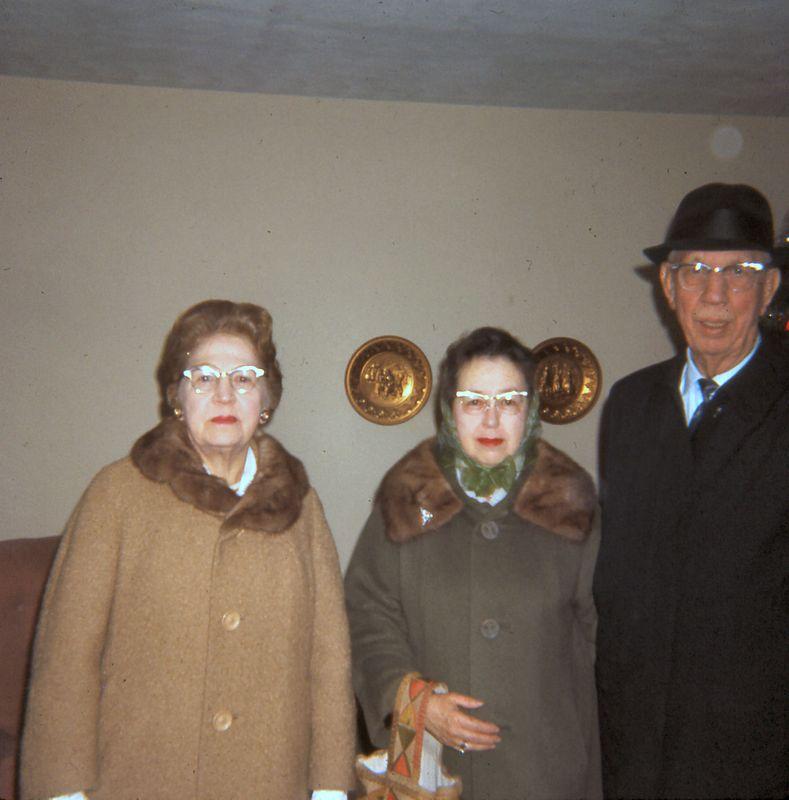 Grandma Hellam, Aunt Mona & Uncle Clifford