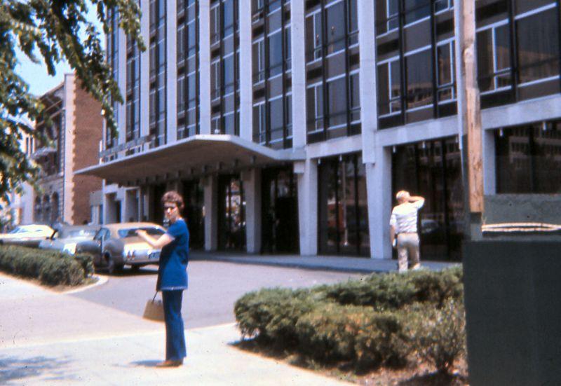 Mom in DC, 1971