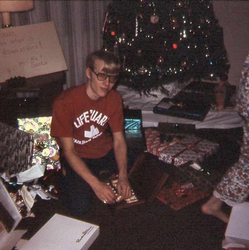 Wally, Christmas 1971