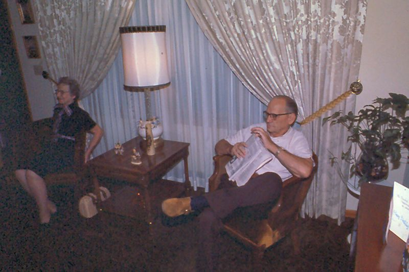 Grandma & Grandpa, 1975