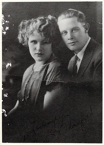 Manfred and Hope Askew - newlyweds