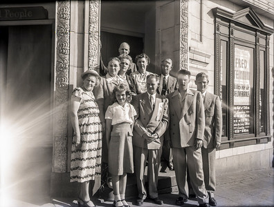 1951 in front of old Bethel Temple in Seattle