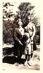 June 1945 Three Generations