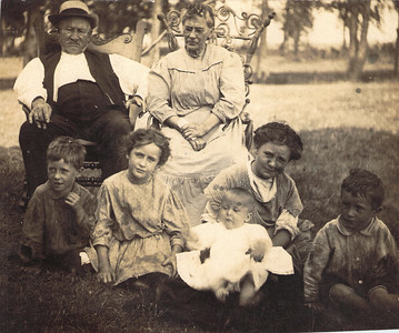 Joseph Askew and family