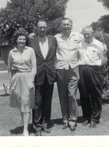 Manfred Askew with half-siblings Mildred, Russell, and Bill