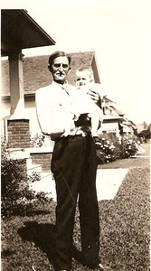 Grandpa Bock with what must be Jack Harvey
