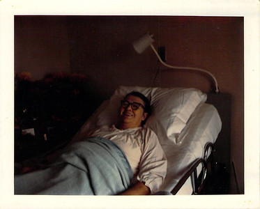 Felvia Adair Edwards in the hospital 13 Nov 1966