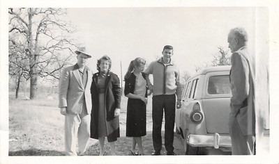 Feb 1960 - Home for Grandpa Adair's funeral?