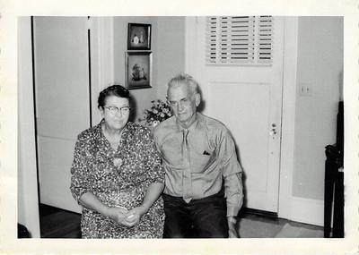 Joseph and Felvia Edwards Nov 1961