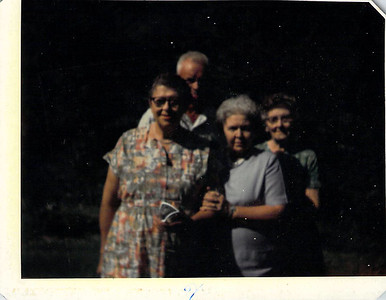 Joseph and Felvia Edwards with Maidee and Aunt Kate