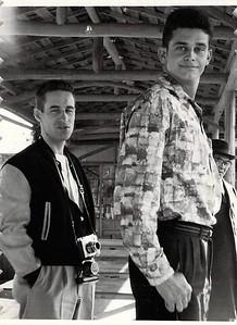 Wayne Edwards and ?George Harris