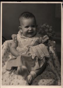 Ruth Elaine Edwards 23 April 1961 4 1/2 mo