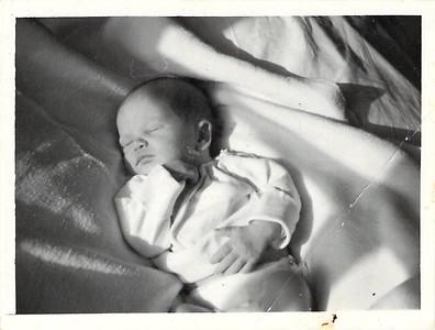 Ruth Elaine Edwards, 5 days old