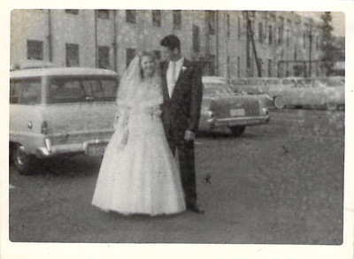 Wayne and Ruth (Askew) Edwards Wedding 5 July 1958