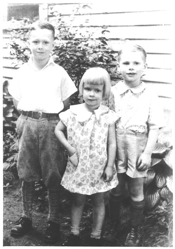Joyce Logan with brothers Herb and Jack