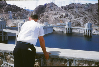 At the Hoover Dam 1959