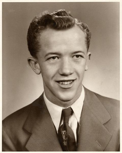 Duane Hoffman Age 19 Taken Spring 1950