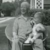 Harold P. Hoffman holding Douglas Hoffman Sep 1955