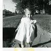 Teri Hoffman November 1958. Taken in Payette, Idaho in Grandpa Hoffman's yard.
