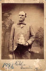 Emanuel Johns 1886, age 45 -- Burrton, Kansas