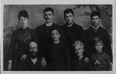 Edward and Lois Purvis Family 1888