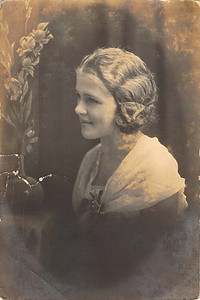 Hope Purvis, age 16 - 1922