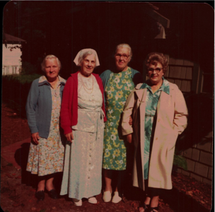 Four Purvis Sisters 1980ish