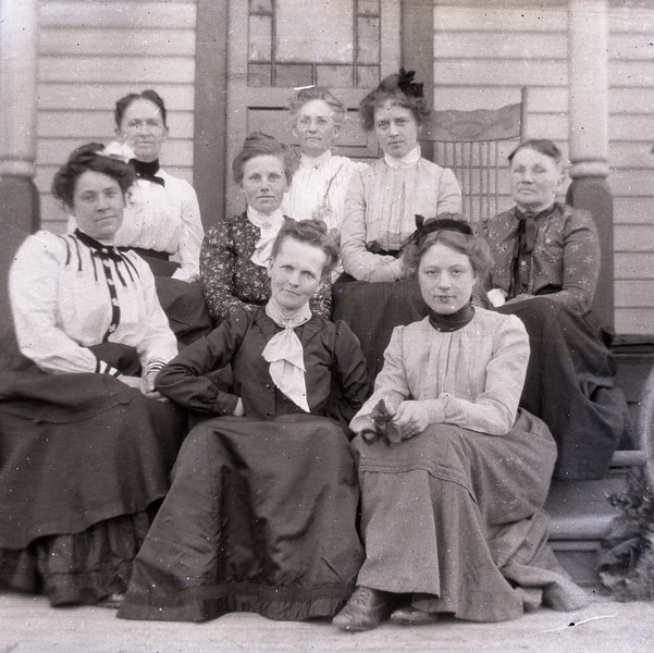 Purvis and Johns Ladies on Porch