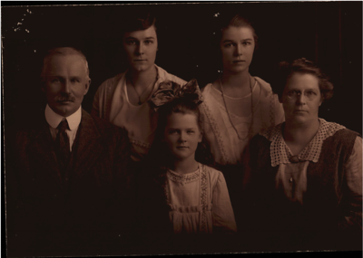 Seymour and Olive Purvis family
