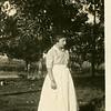 "1924 Hazel Davis (back of photo reads ""Looks like I had lost all the friends I ever had."""