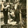 1929 Cannonsville, NY<br /> Jacob S. Davis holding Dorothy Davis and Henry Blaine Strawn.
