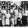1923 Strawn Family<br /> Front Row Mary, Ross, Keith, Chester<br /> Back Row Hazel Henry, Nettie, Lucille, Clarence, Lester,