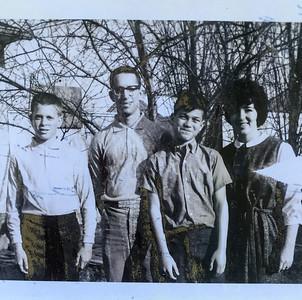(L) Kenneth Hart, Vaughn Hart, Joel Goldstone, Dale Goldstone