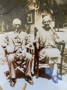 Great Grandpa Edgar & Great Grandma Laura
