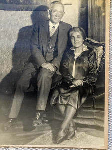 Great Grandpa Edgar and Great Grandma Laura