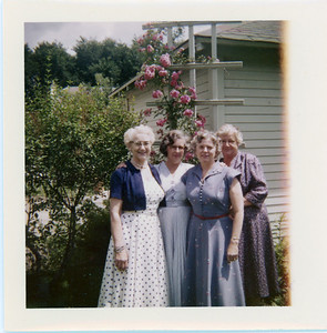 Ethel Carmichael, 2nd from the Left