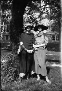 Ethel Carmichael and Florence V Fruen