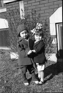 Cousins George and Jane Carmichael