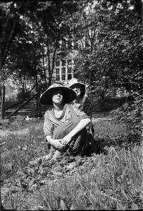 Ethel Carmichael in Front with Sister Florence V. Fruen