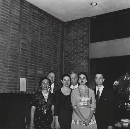 Left to Right: Unknown, St. John Garwood,Jean Garwood, Judge Hunt, Robin Hunt, Unknown