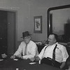 Judge Hunt (in hat) with poker friends- 1950s Houston