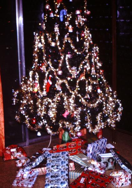 1968 Presents Under the Tree