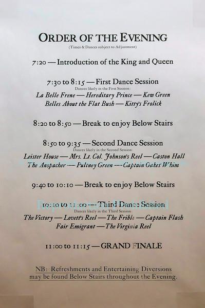 The 2015 Twelfth Night Ball at Old Fort Niagara.